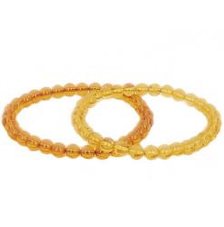 bracelet ambre perles