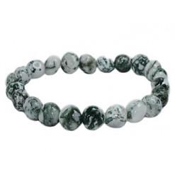 bracelet pierres roulées agate arbre