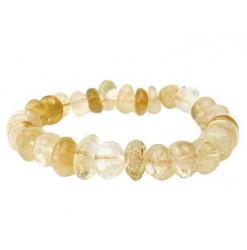 bracelet nuggets en citrine