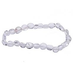 cristal de roche bracelet nuggets