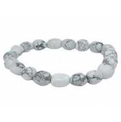 bracelet en pierre d'howlite