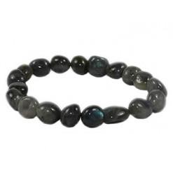 labradorite bracelet pierre roulée