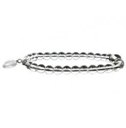 bracelet cristal de roche avec coeur