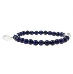 bracelet de lapis lazuli avec coeur