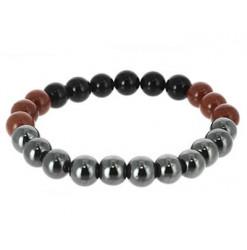 bracelet signe du scorpion en perles de pierres