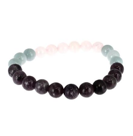 bracelet pierres naturelles de la balance