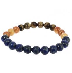 bracelet de la vierge en perles de pierres