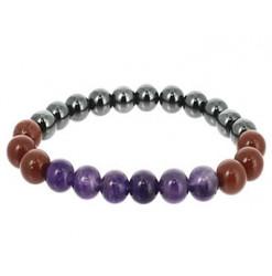 bélier bracelet zodiaque en pierres naturelles