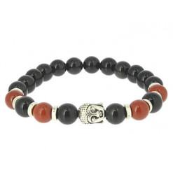 bracelet équilibre obsidienne oeil céleste