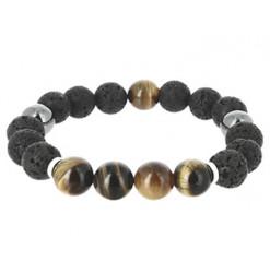 bracelet pierre de lave zongen