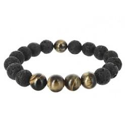 bracelet pierre de lave wing chun