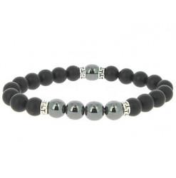 duke bracelet perles black pearl