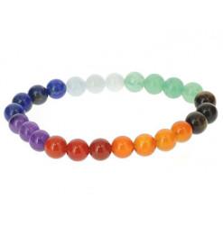 bracelet perles naturelles 7 chakras