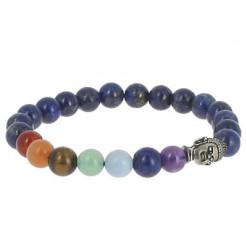 bracelet lapis lazuli 7 chakras