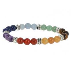 bracelet pierres 7 chakras trio