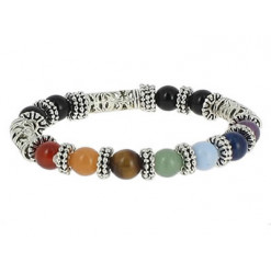 bracelet tibétain 7 chakras