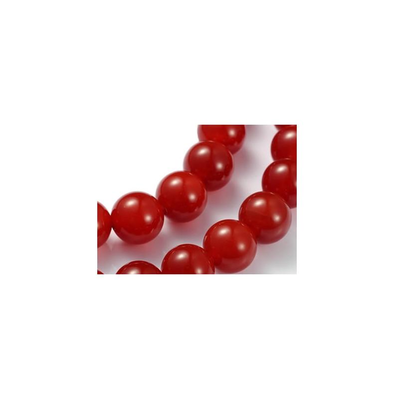 cornaline perle pierre percée