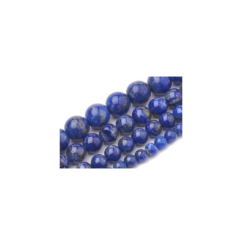 perles de lapis lazuli
