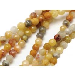agate crazy lace perles facettées