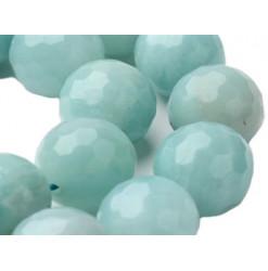 perles facettées amazonite
