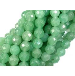 aventurine verte perle facettée