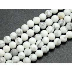 howlite givrée perles