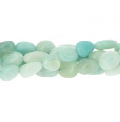 amazonite perle roulée