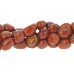 jaspe rouge perle roulée