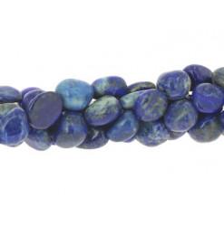 perles roulées de lapis lazuli