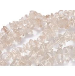 perles chips de cristal de roche