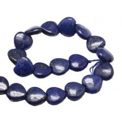 lapis lazuli perles coeur