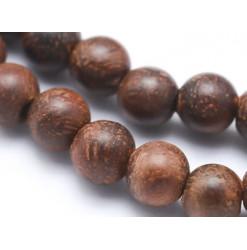 bois de rose perles rondes