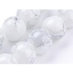 perles en verre grises