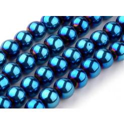perle electroplated bleu