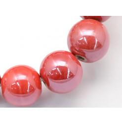 porcelaine rouge perle
