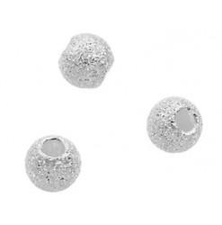 perle diamantée en argent 925