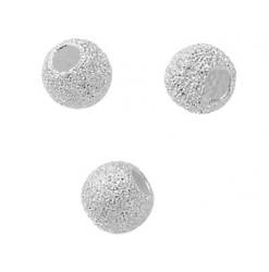 perles argent 925 diamantées