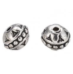 perle métal pour bijoux