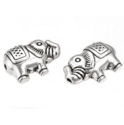 perle éléphant en métal