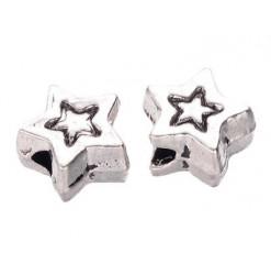 perle forme étoile en métal