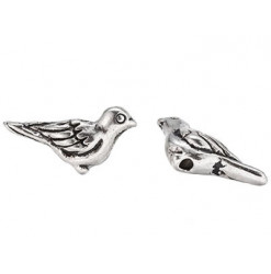perle oiseau en métal