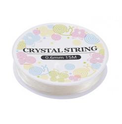 fil cristal élastique création bijoux