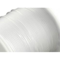 bobine de fil nylon blanc