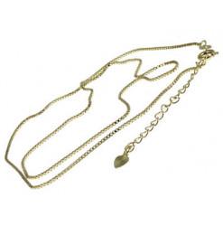 chaînette métal doré pour bijoux