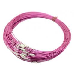 ras de cou violet pour pendentifs