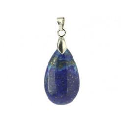 pendentif lapis lazuli pierre goutte