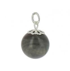 perle de labradorite en pendentif