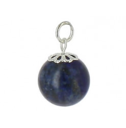 pendentif perle de lapis lazuli honua