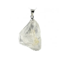 pendentif brut cristal de roche