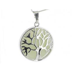 pendentif arbre de vie jade de chine